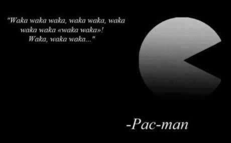 Wise words from Pac-Man