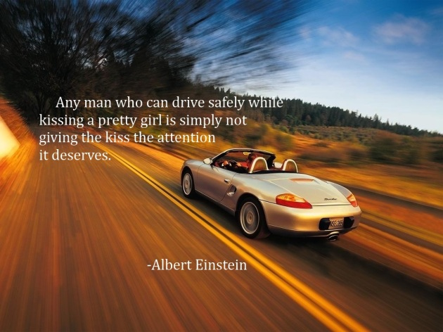 Einstein drops some cleverness for your Thursday morning
