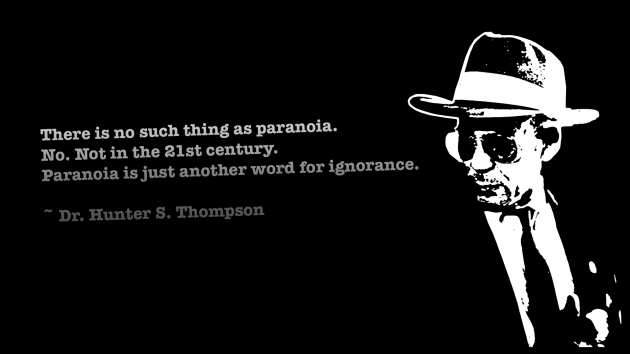 Hunter S. Thompson Thursday!