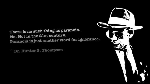 Hunter S. Thompson Thursday!