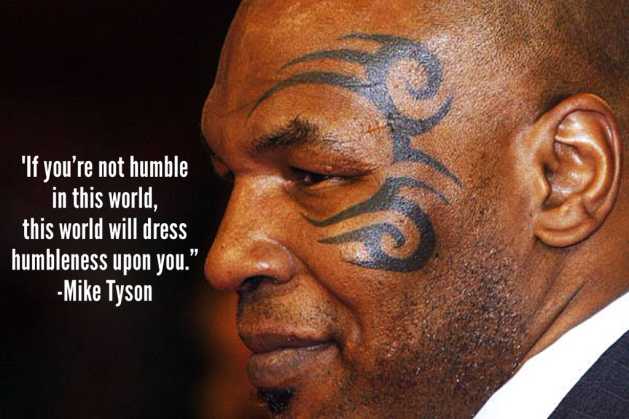 Mike Tyson Continues To Be Wise.