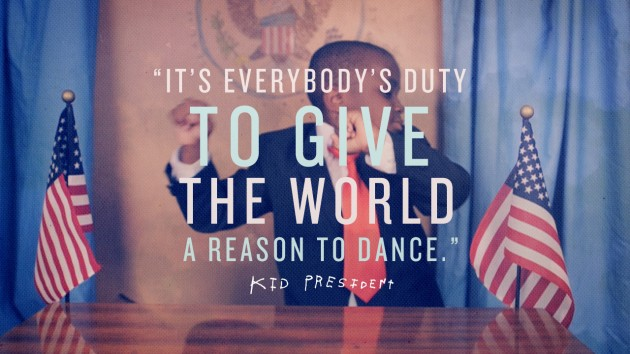 Kid President Provides Some Straight Talk/Motivation.