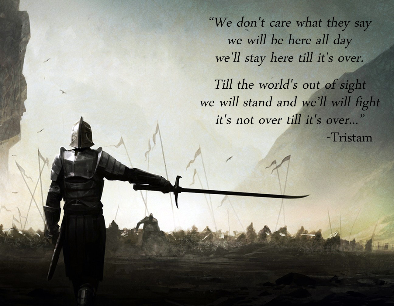 Tristram Stands Tall & Fights On.