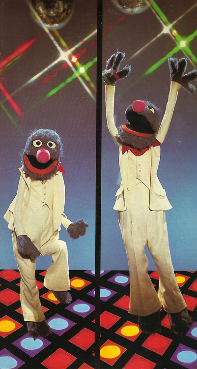 Grover Says Get Down Tonight.