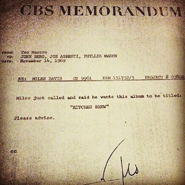 Miles Davis Fucks With CBS