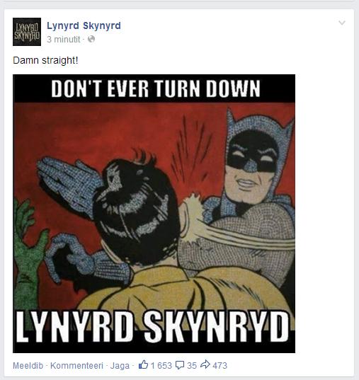 Lynyrd Skynyrd Rocks.