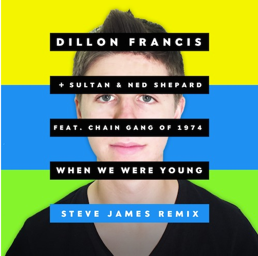 Dillon Francis, Sultan + Ned Shepahrd - When We Were Young (Steve James Remix)